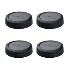 4pcs Rear lens cap cover for Fujifilm Fuji FX X mount camera replacement
