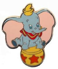 Disney Dumbo the Flying Elephant Sitting on a Circus Ball pin