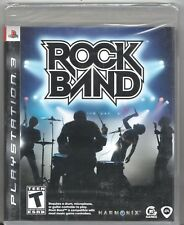 Video Game - Sony Playstation 3 ROCK BAND - Factory Sealed