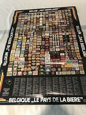 Belgium The Beer Country Vintage Poster 1994