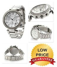 Michael Kors Ladies MK5353 Silver Stainless Steel Womens Chronograph Round Watch