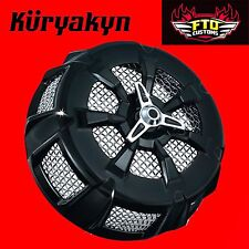 Kuryakyn Black Alley Cat Air Cleaner Cover '99-'16 Touring 9438