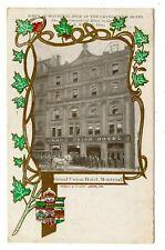Grand Union Hotel MONTREAL Quebec 1908 Patriotic Advertising Knowles Postcard