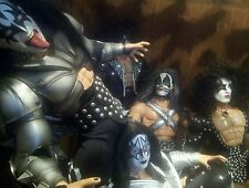 KISS RARE SET OF 8 60cm FIGURES DESTROYER and LOVE GUN !!!