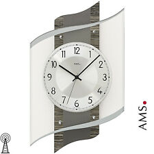 AMS 50 Wall Clock RC Radio Living Room Office Kitchen Dining Hours 161