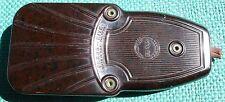 PRESS - RITE Seam Iron Brown Speckled Bakelite Art Deco MADE IN U.S.A. PAT PEND