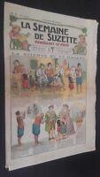 Revista Dibujada La Semana De Suzette que Aparecen El Jueves 1924 N º 9 ABE