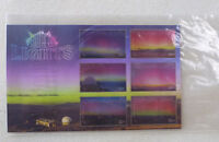 2017 NEW ZEALAND SOUTHERN LIGHTS  6 STAMP MINI SHEET MINT