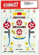 "STUDIO27 1/24 SUBARU IMPREZA WRC ""TEXACO"" '99 for TAMIYA DC222 Decal"
