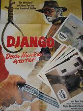 DJANGO DEIN HENKER WARTET  24 AUSHANGFOTOS Plakat A1 Ivan Rassimov ITALO WESTE