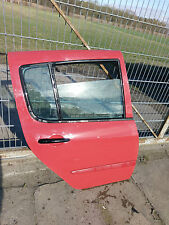 Tür hinten Rechts komplett Renault Modus 04-08 Rot OV797
