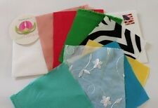 Swatches for up to 8 different fabrics or drapes selling in my store