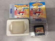 Sega Game Gear Desert Speedtrap ROAD RUNNER Boxed