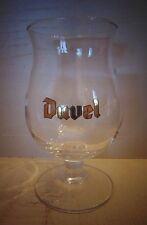 DUVEL - Brewery MOORTGAT - New glass – Big D ingraved inside  – COLLECTORS ITEM