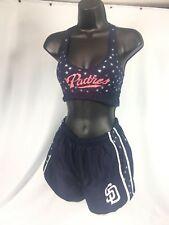 * PINK * Victorias Secret 5th & Ocean San Diego Padres MLB Shorts & Top Sz S/XS*