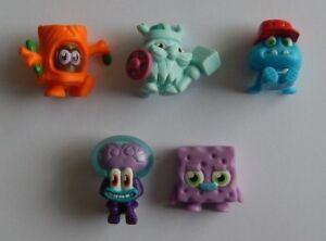 NEW Series 5 Moshi Monsters 5 Loose Bulk Moshis Collectible Figurines FREE POST