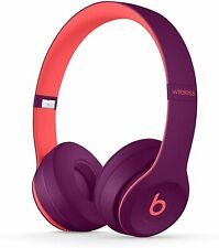 Beats Solo3 Kabellose Bluetooth On-Ear Kopfhörer Apple W1 Chip Pop Magenta NEU