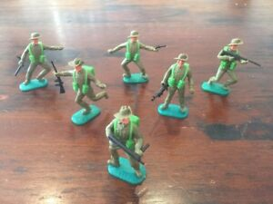 Timpo Australians/ Diggers - Complete Set - WW2 - 1970's
