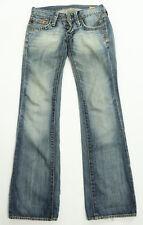 Womens Crocker Master Ultra Low Rise Blue Denim Jeans 25 x 31