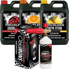 Prokleen Snow Foam Lance Cannon Karcher K Compatible Gun 3 X 5l Car Cleaning 15l