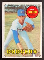 1969 Topps #216 DON SUTTON Los Angeles Dodgers Hall of Fame EX-EXMINT