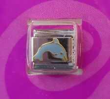 d Dolphin Italian LINK bracelet charm claire's
