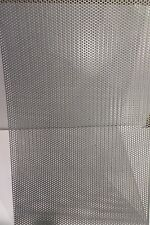 """===20 GA. 304 STAINLESS STEEL PERFORATED SHEET 1/8""""HOLES   8-7/8"""" X 9-1/2""""===="""