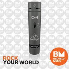 Behringer C4 Condenser Microphone Condensor Mic C-4 - Brand New - Belfield Music