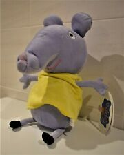 EMILY ELEPHANT LARGE SOFT TOY CHARACTER FROM PEPPA PIG TV PROGRAMME 30 cm TALL