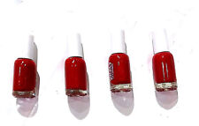 Matte Nail Paint, blood  Red colour  4 PIECE
