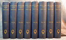 8 Vols Work & Life of Walter Savage Landor  by John Forester Chapman & Hall 1876