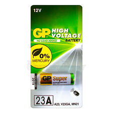 1 x GP 23A Alkaline Super battery 12V MN21 A23 E23A V23GA 3LR50 LRV08 Pack of 1
