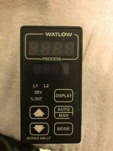 Watlow Temperature Process Controller 988L-20DD-AARR Parts/Repair