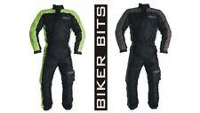 Abbigliamento da pioggia nero per motociclista taglia XL