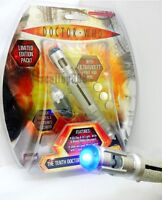 Dr Doctor Who SOUND AND LIGHTS! *SONIC SCREWDRIVER* NEW! 10th figure TARDIS