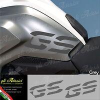 Set 2 Adesivi Fianco Serbatoio Moto BMW R 1200 gs LC Grey