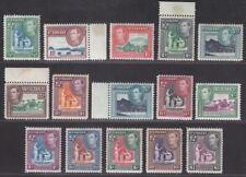 St Vincent 1938-47 King George VI Set Mint SG149-159 cat £60