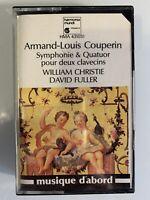 A.L. Couperin W. Christie D. Fueller Symphonie Quatuor (Cassette)