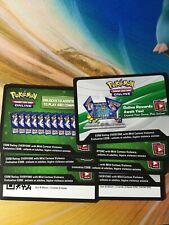 Pokemon sun and moon cosmic eclipse elite trainer box code cards