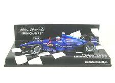 Prost Peugeot AP02 First F1 Test Barcelona December 1999 (Jenson Button)