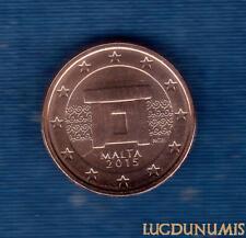 Malte 2015 2 Centimes d'euro FDC BU Provenant Coffret 30000 Exemplaires Malta