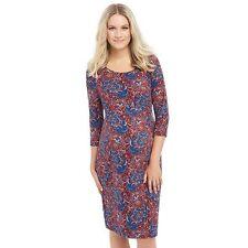 Oh Baby by Motherhood Maternity Dress Paisley Sz M Sheath 3/4 Sleeve NWT