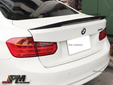 High Kick P Type Carbon Fiber Trunk Spoiler For 12-17 BMW F30 320i 328i 335i 4Dr