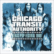 The Chicago Transit Authority : Texas Pop Festival 1969 CD (2015) ***NEW***