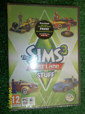 NEW PC MAC DVD-ROM EXPANSION PACK for THE SIMS 3 III FAST LANE STUFF Exp Pk cars