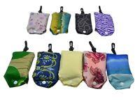 5 pcs Eco Shopping Travel Shoulder Bag Pouch Tote Handbag Folding Reusable Bags