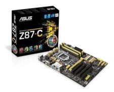 Asus Z87-C Mainboard Sockel LGA 1150 (ATX, Intel Z87, DDR3 Speicher #1190