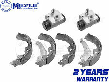 FOR CITROEN C1 REAR HAND BRAKE SHOE SHOES HYDRAULIC WHEEL CYLINDERS MEYLE