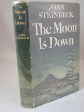 The Moon is Down by JOHN STEINBECK - Viking 1942 - 1ST Edition in Dust Jacket