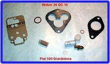 Weber 26 OC, carburatore REP. KIT, FIAT 500 GIARD. tra l'altro